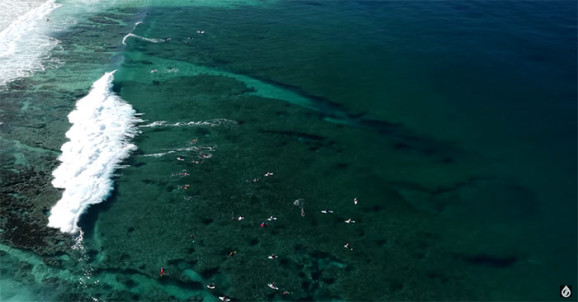 Surf From Above – 4K